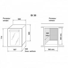 Indel B Built-In 36 Home Plus монотемпературный